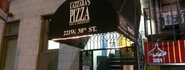 Lazzara's Pizza is one of New York cheap eats.
