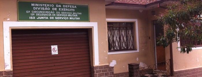 Junta de Serviço Militar de Poços de Caldas MG is one of Hotspots WIFI Poços de Caldas.