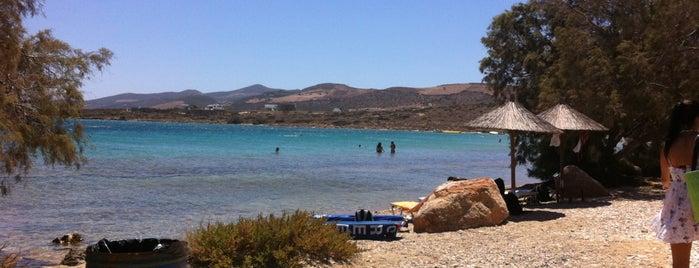 Psaraliki B Beach is one of Paros Top.