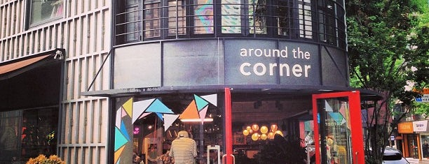 around the corner is one of Good places in Seoul.