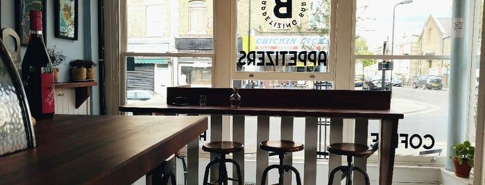 Bernstein's Bar is one of East London.