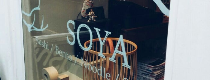 Soya is one of London.