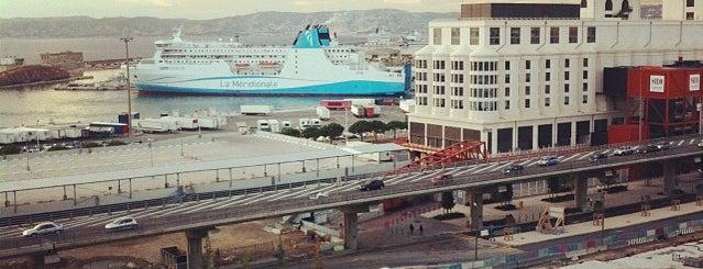 Port de Marseille-Fos is one of Marseille.