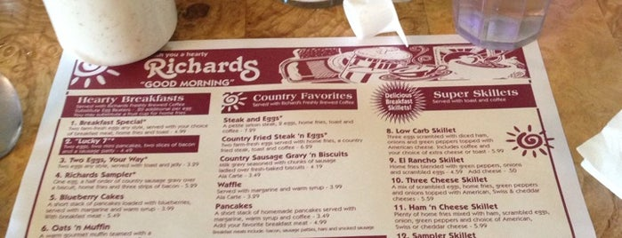 Richards Restaurants is one of Wells County, IN Places.