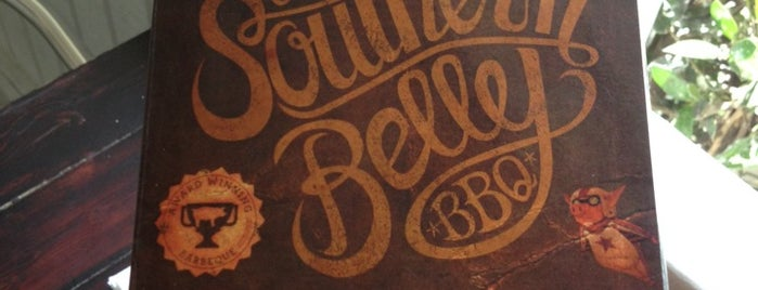 Southern Belly BBQ is one of South Carolina Barbecue Trail - Part 1.