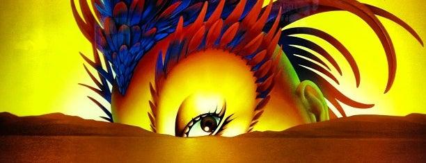 Mystère is one of Cirque du Soleil Las Vegas.