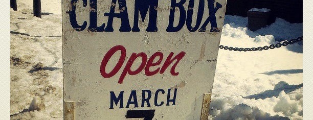 The Clam Box is one of Quincy- City of Presidents.