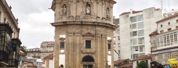 Praza da Peregrina is one of Pontevedra.