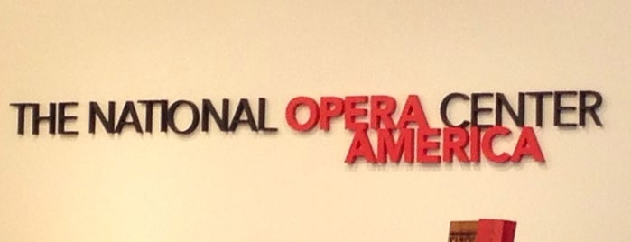 The National Opera Center is one of US & Canada.