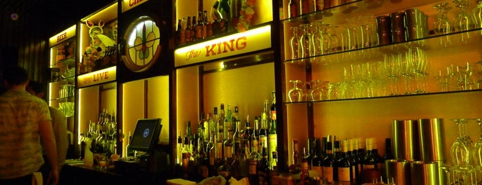 The King of Ladies Man is one of London bars.