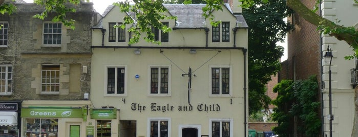 The Eagle & Child is one of Favorite Pubs in Oxford.