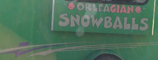 Orleagian Snowballs is one of The 15 Best Food Trucks in Atlanta.