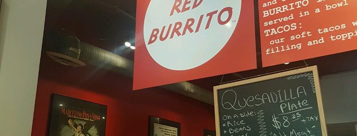 Red Burrito is one of FOOD!.
