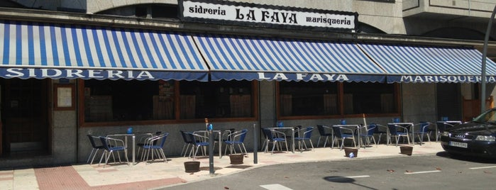 Sidrería La Faya is one of Bares, qué lugares!!.
