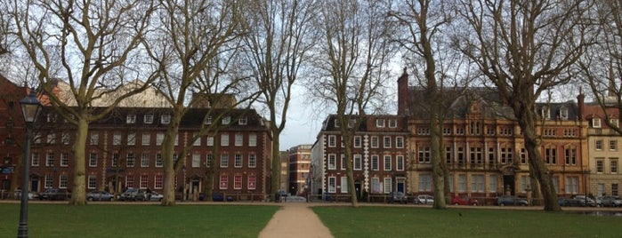 Queen Square is one of EC Students' Favourite Places.