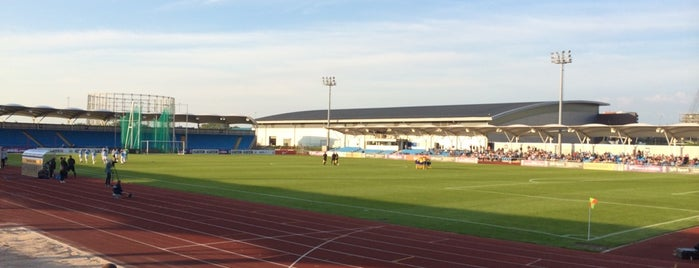 Regional Athletics Arena (mini CoMS) is one of Olympics.