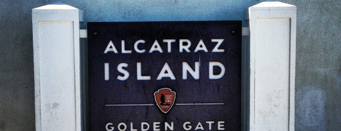 Alcatraz Island is one of SF + Play.