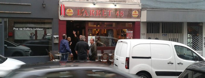 l'arrêt 48 is one of Authentic pubs in Brussels. No hipsters!.