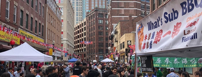 Chinatown is one of USA Boston.