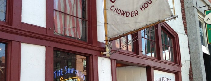 Gilbert's Chowder House is one of Portland ME Eateries.