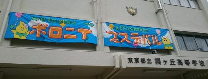 東京都立桐ヶ丘高等学校 is one of 都立学校.