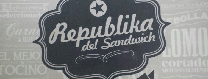 Republika Del Sándwich is one of Sandwich.