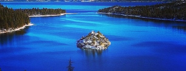 Emerald Bay State Park is one of South Lake Tahoe.