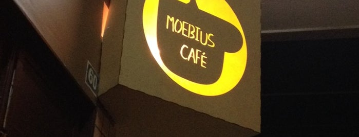 Moebius Café is one of Places to Know.