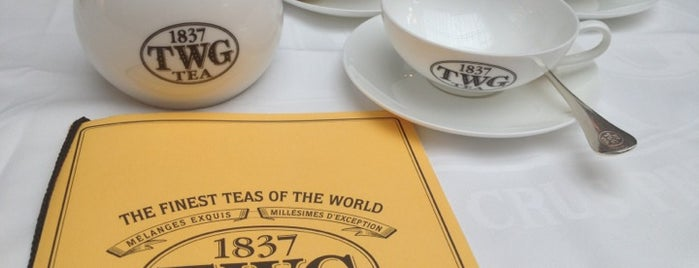 TWG Tea Salon & Boutique is one of Off beat places to visit in Singapore.
