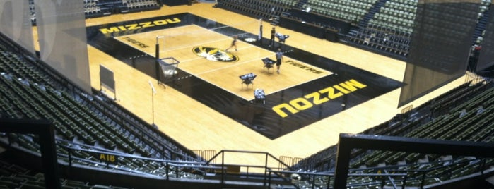 Mizzou Arena is one of Events To Visit....