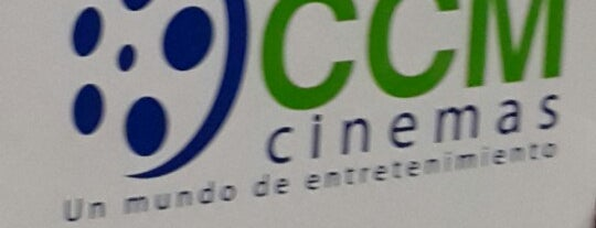 CCM Cinemas is one of Lugares.
