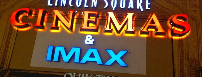 Lincoln Square Cinemas is one of Cyclonize List.