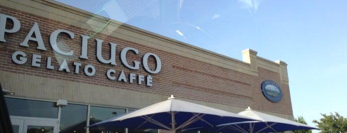Paciugo Gelato & Caffé is one of DFW -More Great Food.