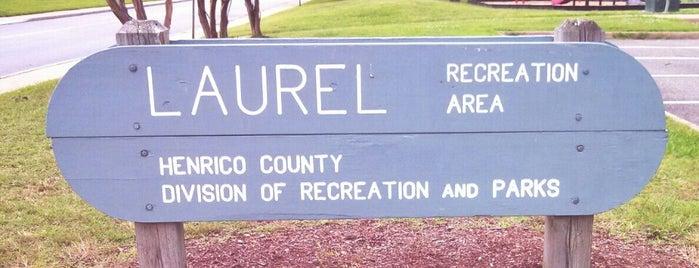 Laurel Skateboard Park is one of RVA parks.