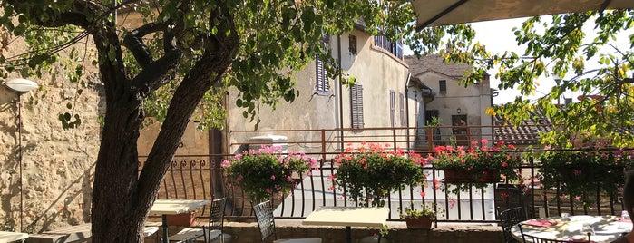 Osteria I Quattro Gatti is one of San Gimignano.