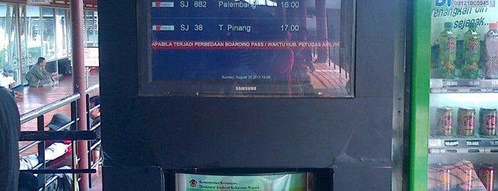 Gate B5 is one of Soekarno Hatta International Airport (CGK).