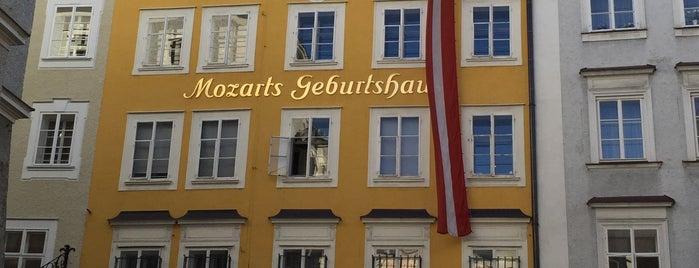 Mozarts Geburtshaus is one of SALZBURG SEE&DO&EAT&DRINK.
