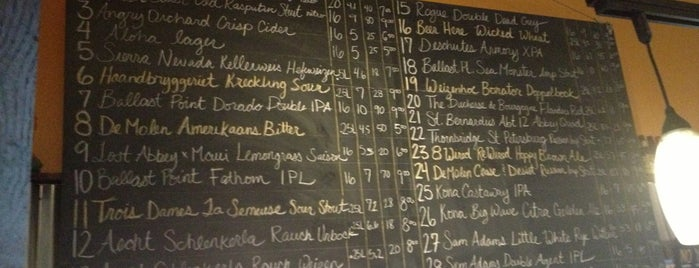 REAL a gastropub is one of The 15 Best Places with a Large Beer List in Honolulu.