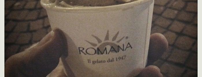 Gelateria La Romana is one of peccati di gola.