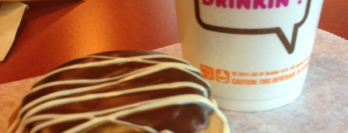 Dunkin' Donuts is one of mine.