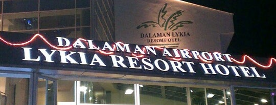 Dalaman Airport Lykia Resort Hotel is one of Hotels I've lived in.
