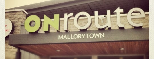 ONroute Mallorytown North is one of Diary of the Open Road Checkpoints.