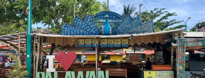 Puerto Princesa Baywalk Park is one of Filipinler-Manila ve Palawan Gezilecek Yerler.