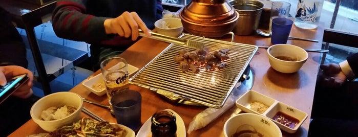 서래갈매기 is one of 마포구.