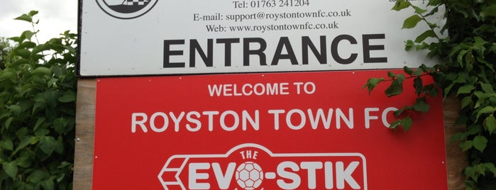 Royston Town Football Club is one of Football Clubs.
