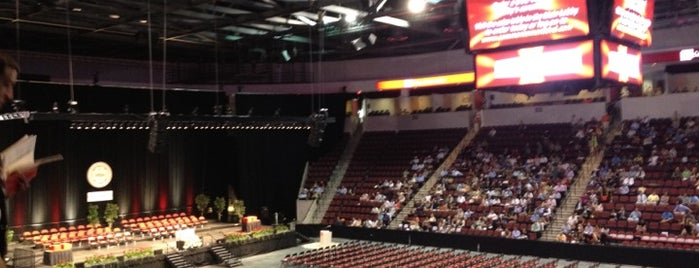 Agganis Arena is one of Orientation 2012 - 29 Hours Around Comm Ave.