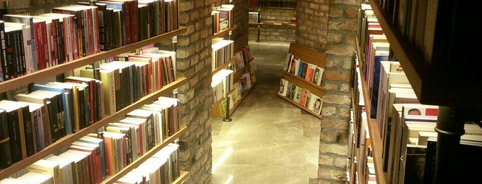 Minoa Bookstore & Café is one of İstanbul.