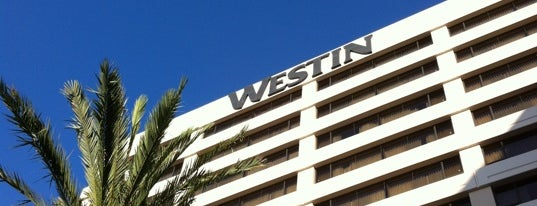 The Westin Los Angeles Airport is one of US & Canada.