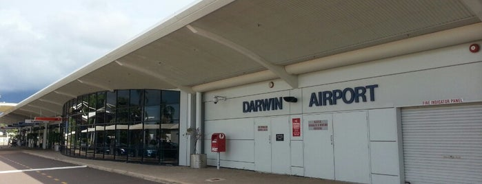 Darwin Airport (DRW) is one of Social around the world.