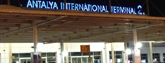 Antalya Havalimanı (AYT) is one of Seçkin Mekanlar.